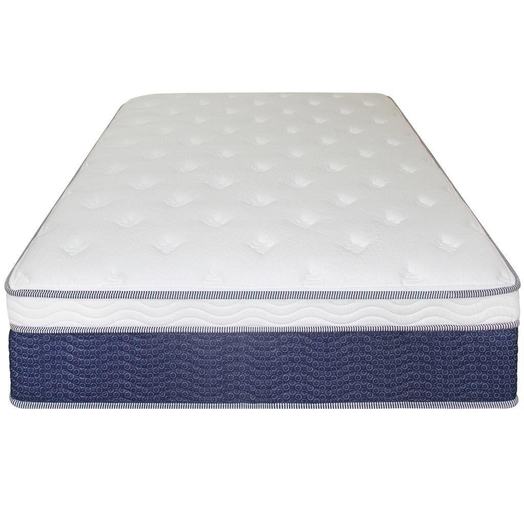 Best Amazon Com Sleep Master 14 Inch Euro Top Spring Mattress 400 x 300