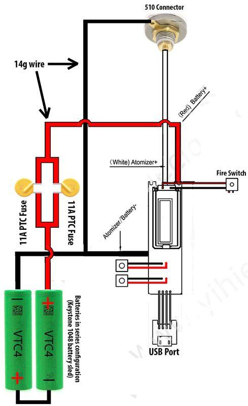 [ img] | vape | pinterest | vape, vaping mods and products  yihi sx350 wiring  series battery diagram