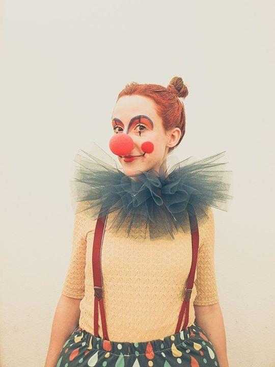 cooles clown make up und kost m selber machen kost midee. Black Bedroom Furniture Sets. Home Design Ideas