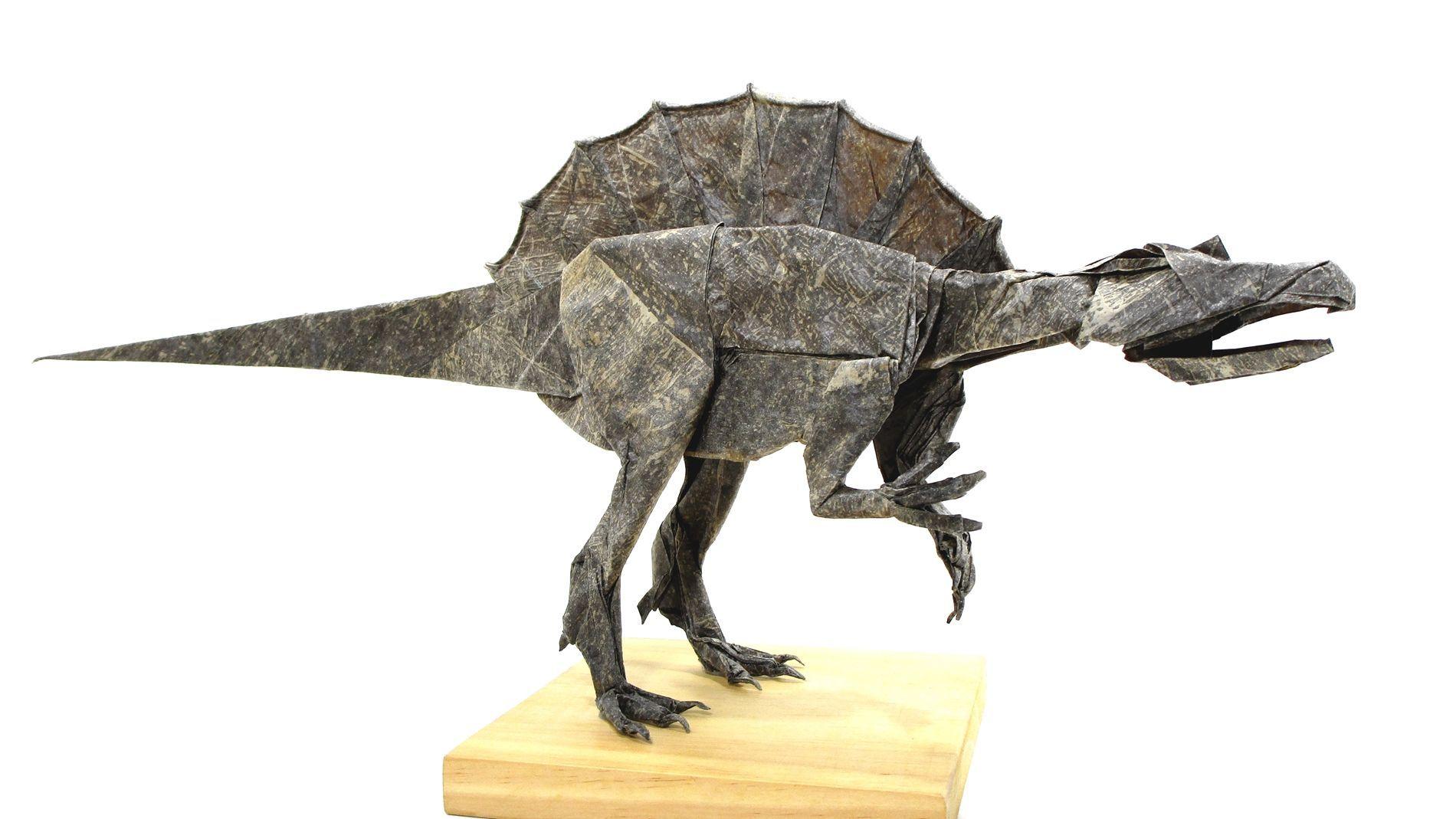 Spinosaurus Satoshi Kamiya Dinosaurs Origami Spinosaurus