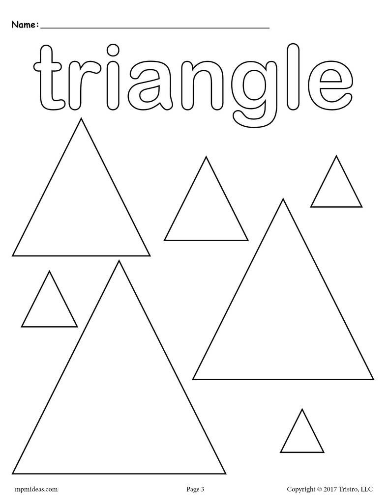 12 Shapes Coloring Pages | Room 2 | Shape coloring pages ...