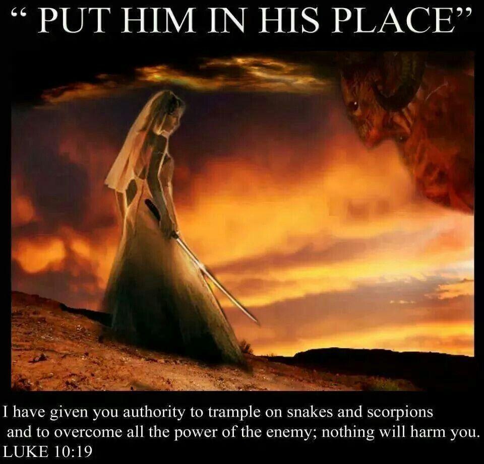 Image Result For Luke 10:19