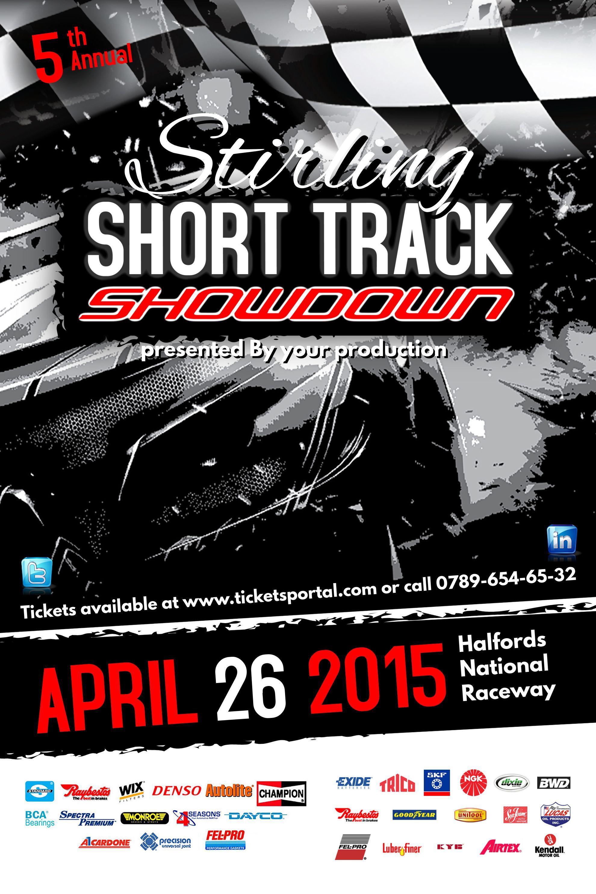 Car Racing Poster Template. | Sports Poster Templates | Pinterest