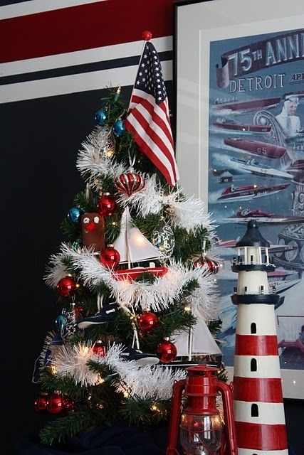a traditional nautical christmas