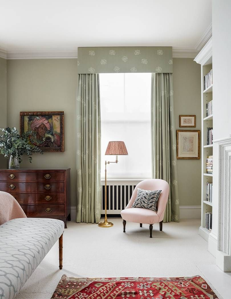 An Airy London Flat In Shades Of Pink Designed By Virginia Howard