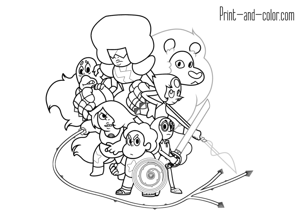 Crystal Gems 1 Minion Coloring Pages Coloring Books Coloring Pages