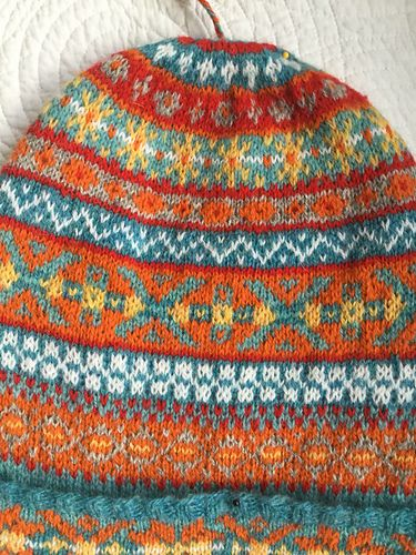 Ravelry: agapanthus66's Cornish Fisherman's Kep | Fair Isle ...