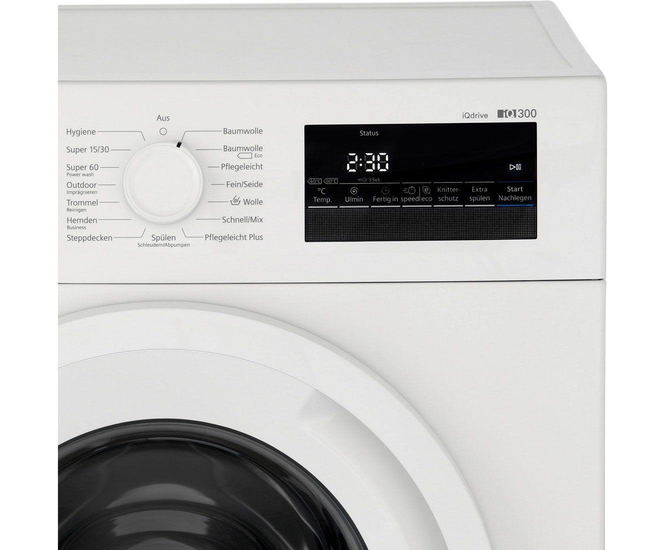 Siemens iQ300 WM14N2A0 Waschmaschine 7 kg, 1400 U/Min, A