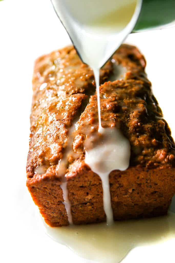 An easy, classic, moist and delicious vegan zucchini bread ...