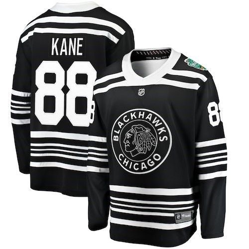 57cf270c9 Patrick Kane Chicago Blackhawks Fanatics Branded 2019 Winter Classic  Replica Player Jersey - Black