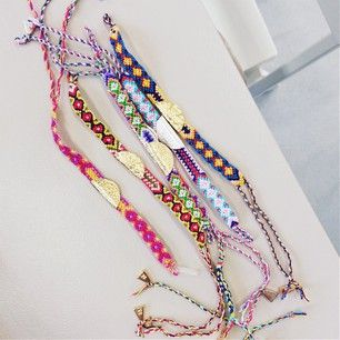 Charlie May friendship bracelets