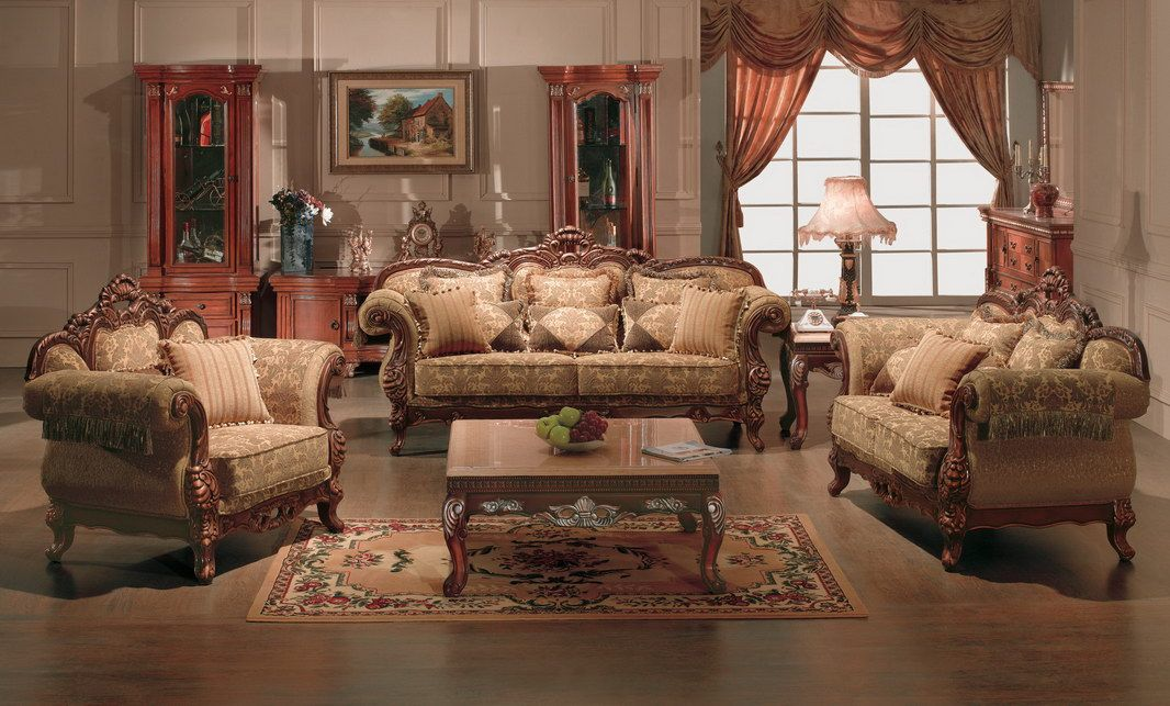 Hot Item Living Room Furniture Sofa Set 4052 Living Room Sets Furniture Classic Furniture Living Room Antique Living Rooms