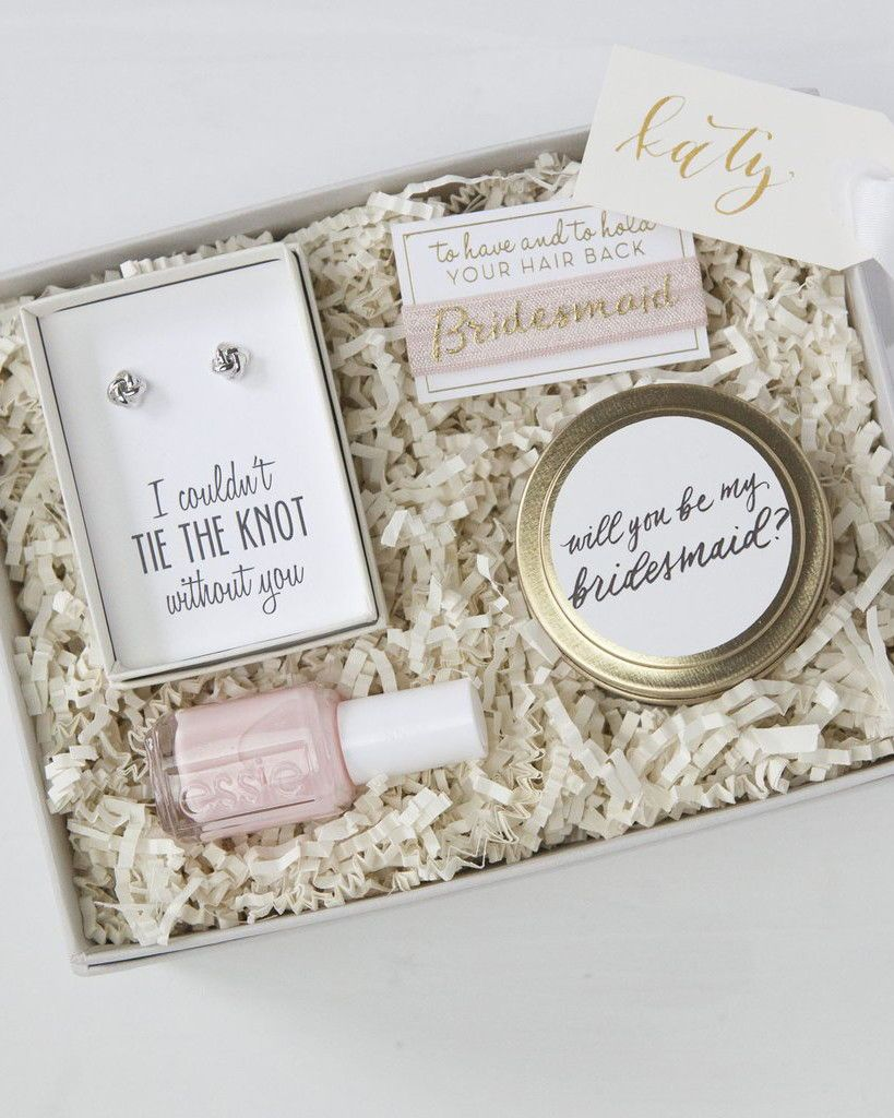 gifts to ask bridesmaids to be in your wedding