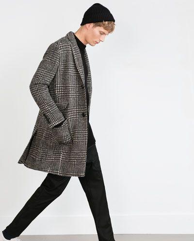 qualité-supérieure hot-vente plus récent plutôt cool Image 1 de MANTEAU À CARREAUX de Zara | Mode | Check coat ...