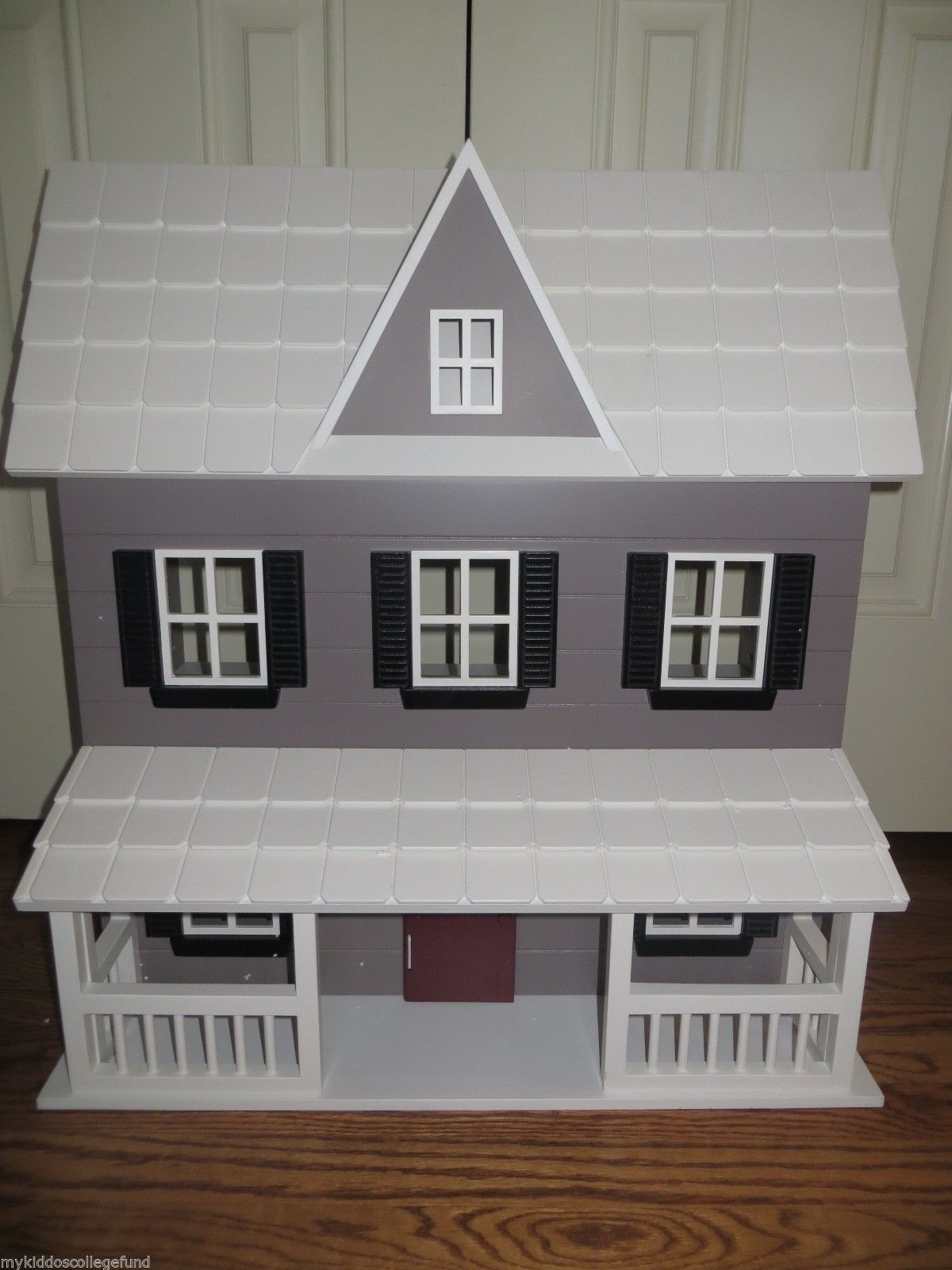 New Pottery Barn Kids Danbury Gray Doll House Dollhouse