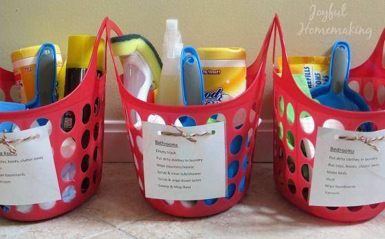 Chore Kits With Printable Trucos De Organizacion Bano De