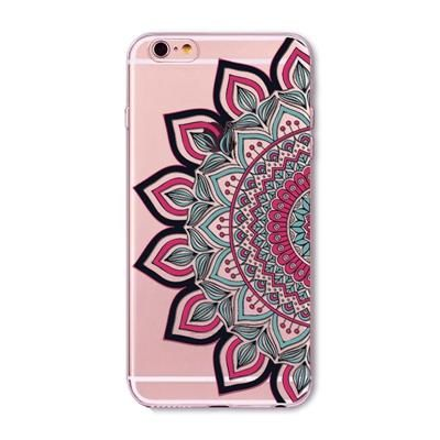 Colorful Floral Paisley Flower Mandala Henna Back Cover For Iphone 5