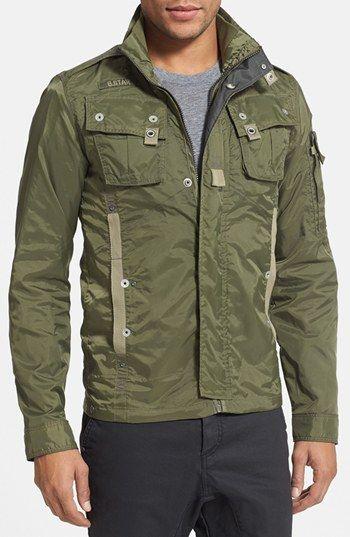 G Star Raw 'Recolite' Lightweight Military Jacket   G star