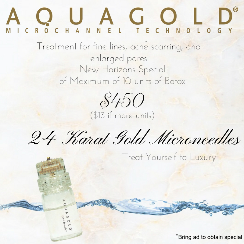 Aquagold Fine Touch Will Shrink Pores With Micro Botox Smooth