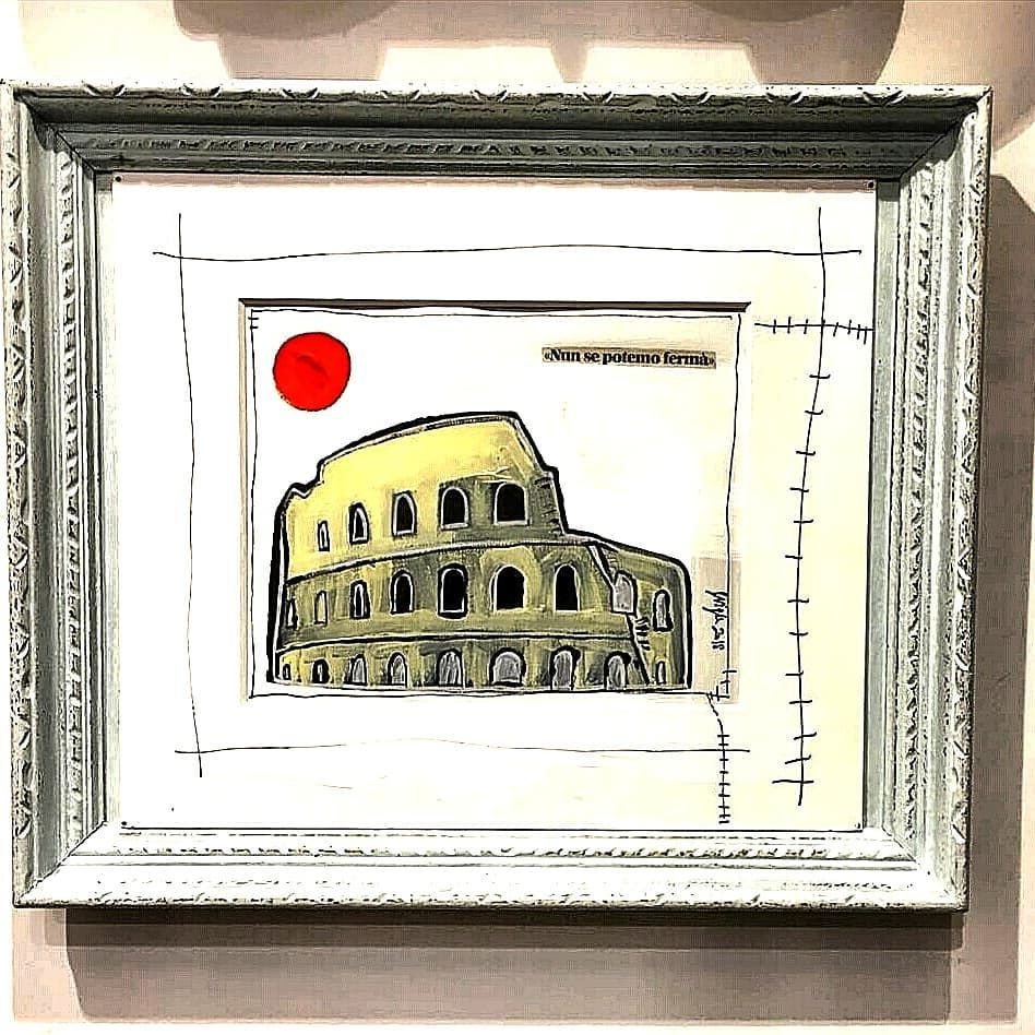 Quadri Moderni Roma Vendita quadro colosseo stanzada letto roma vendita quadri (con