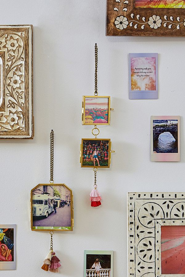 Double Hanging Frames In 2020 Hanging Frames Frame Gallery Wall