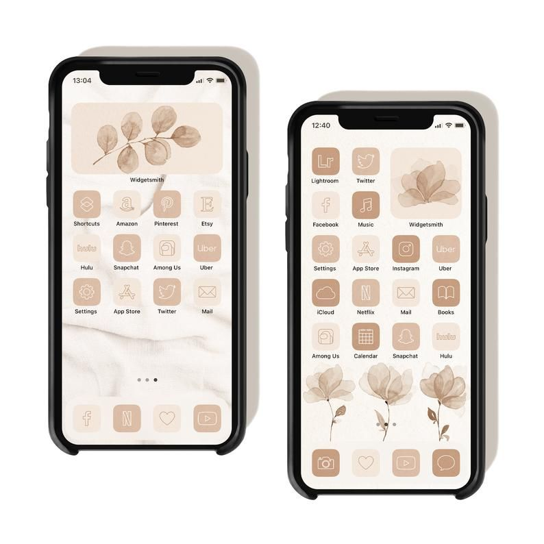 🤎 get 4 & pay for 2 🤎 add 4 products to your cart, use promo code: Neutral Palette App Icons iOS 14 Icons Aesthetic Boho iOS ...