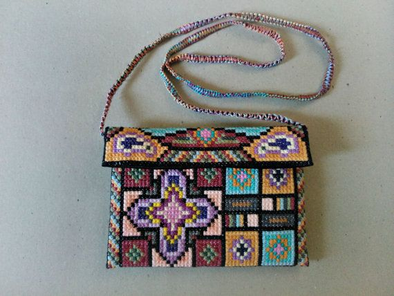 MADE TO ORDER Oriental sunset Cross body bag  one of a by UEonEtsy