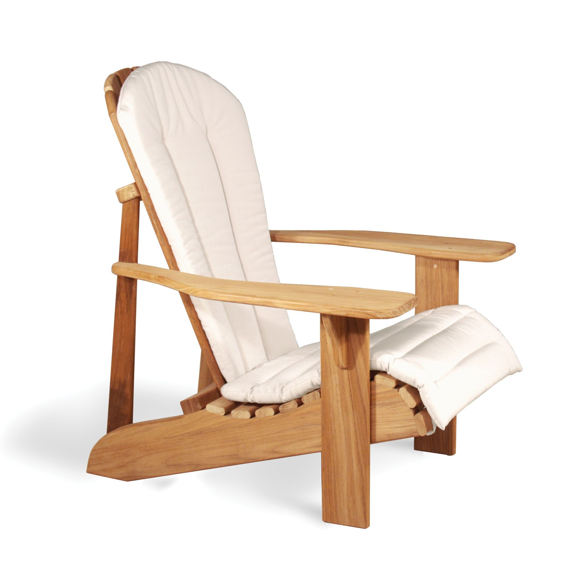 Amazing White Cushions For Adirondack Chairs With Sitting Comfort ...