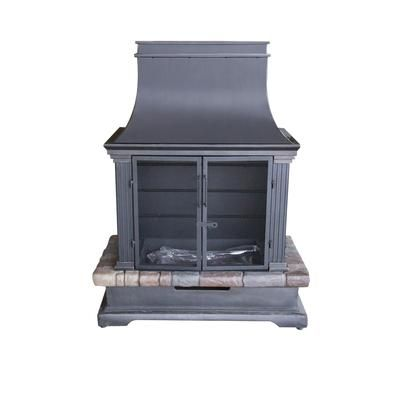 Hampton Bay Kaslo Outdoor Wood Burning Fireplace 66656 Home Depot Canada 199 My New
