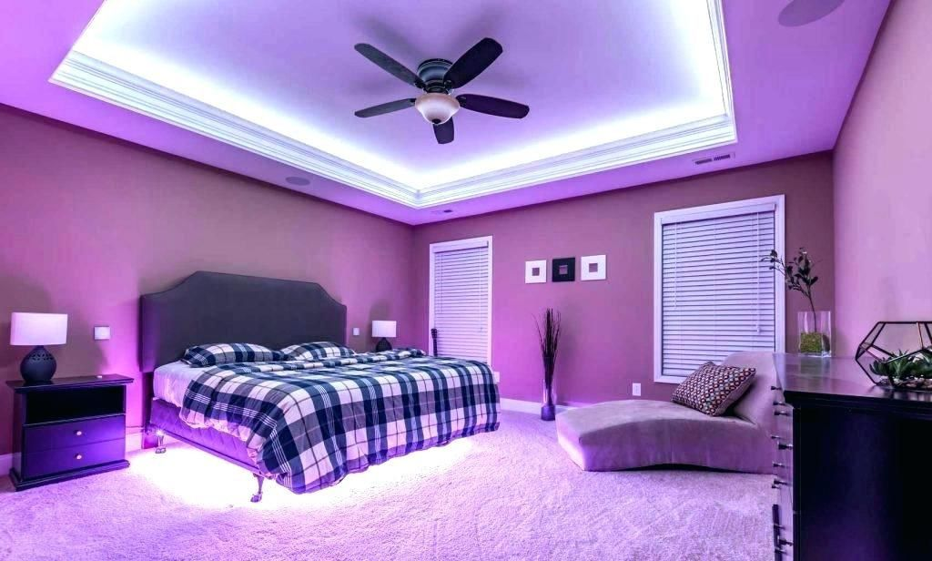 led strip light w remote in 2020  led lighting bedroom