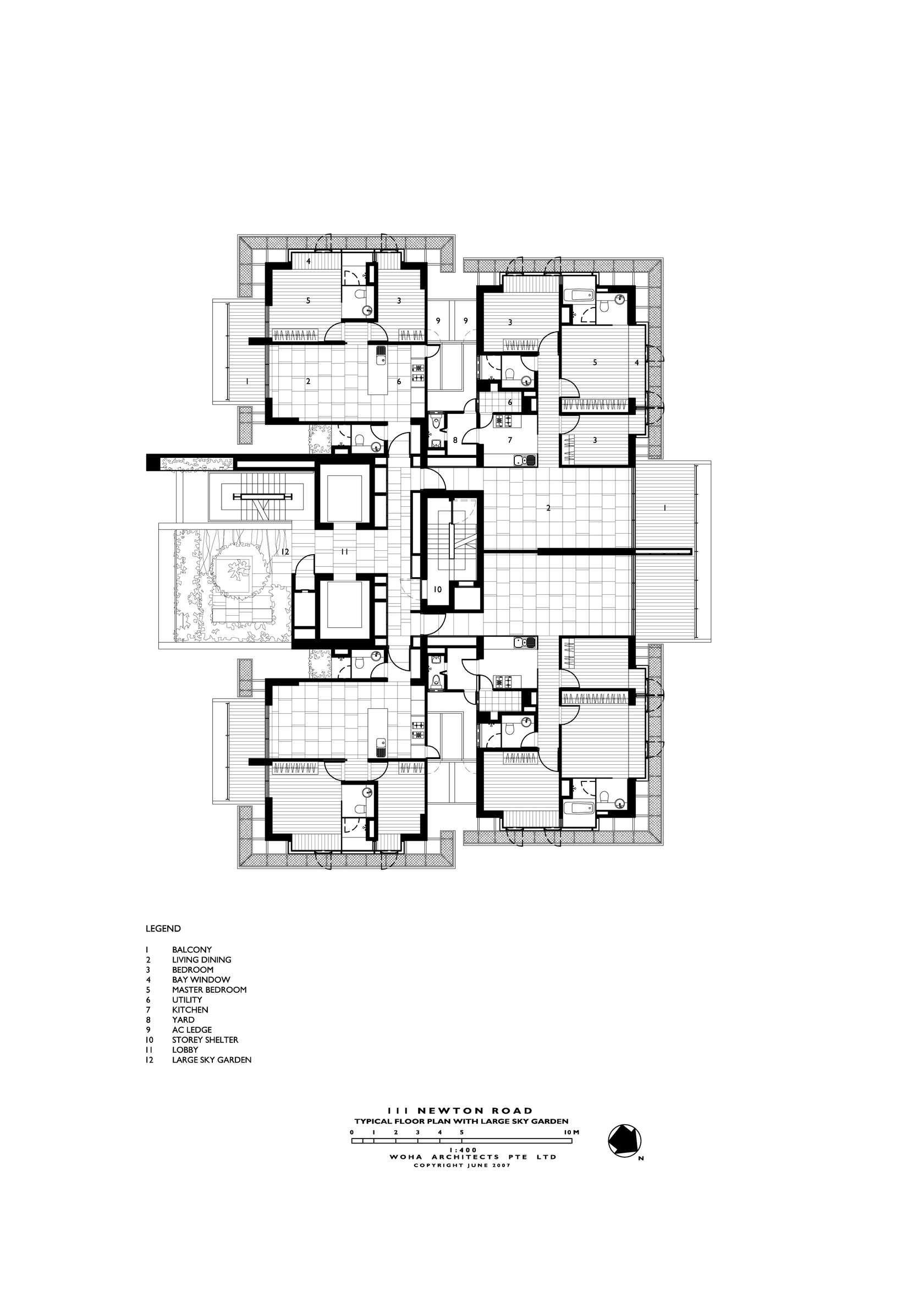 Newton Suites Singapore Architectural Floor Plans Apartment Plans Apartment Architecture
