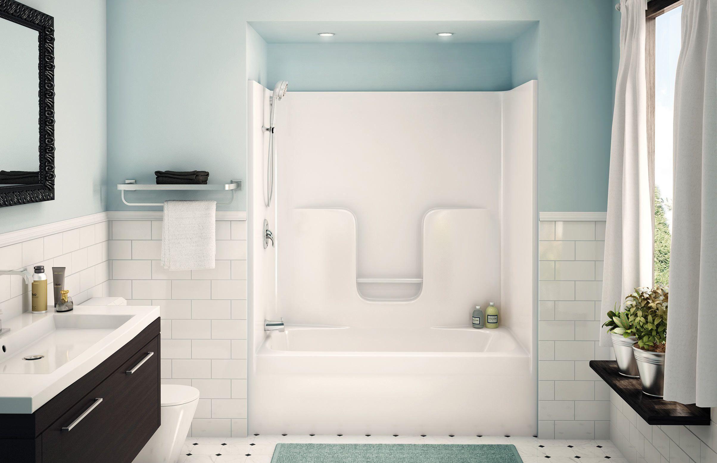 Fiberglass Shower Enclosures Bathtub Shower Combo Tub Shower