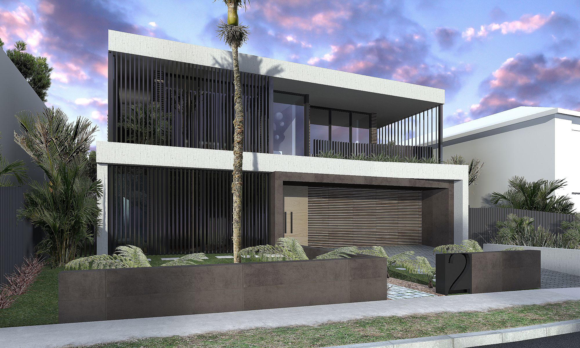 New contemporary modern architectural home interior maroubra randwick council glass timber stone double height space warm timber interior finish