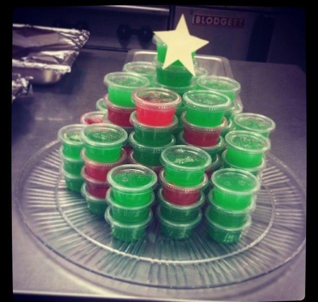 Christmas Jello Shots, Tacky