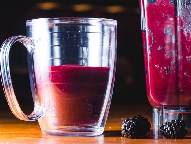 Juicing: Purple Is the New Black