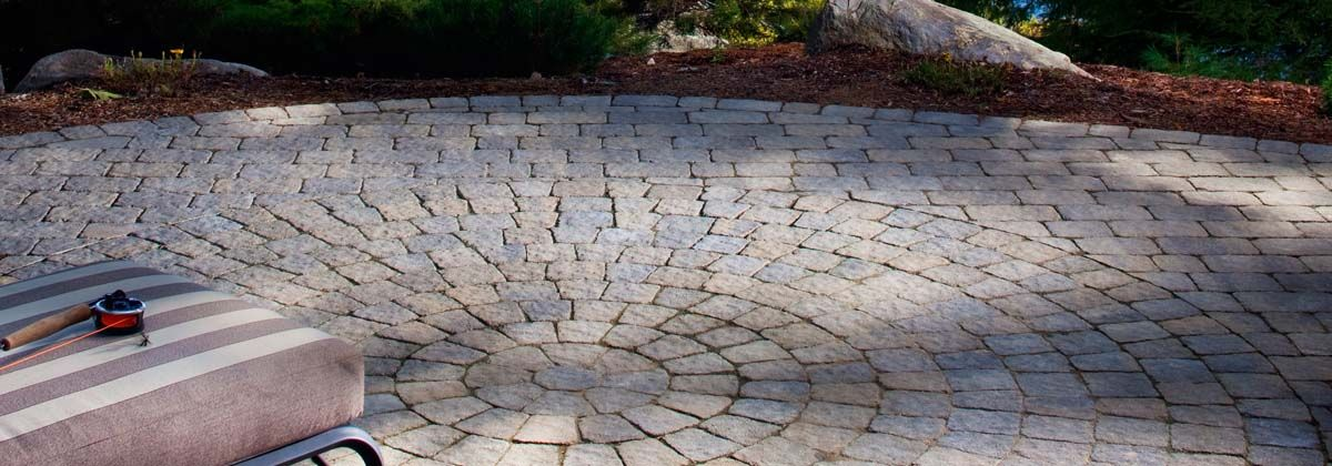 Bergerac Circle Pavers Kit For Hardscapes From Belgard