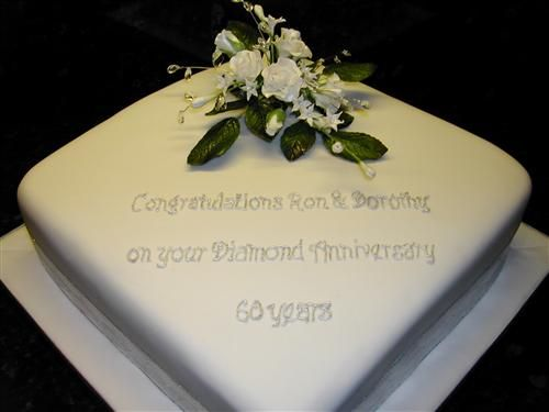 This Is An Anniversary Cake But You Could Use The Idea For A Wedding