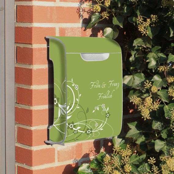 Burg-Waechter design letterbox Vivo with motive 'Your by banjado