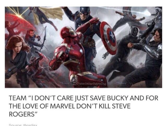 Well, I'm on cap's side but still, no killing steve off