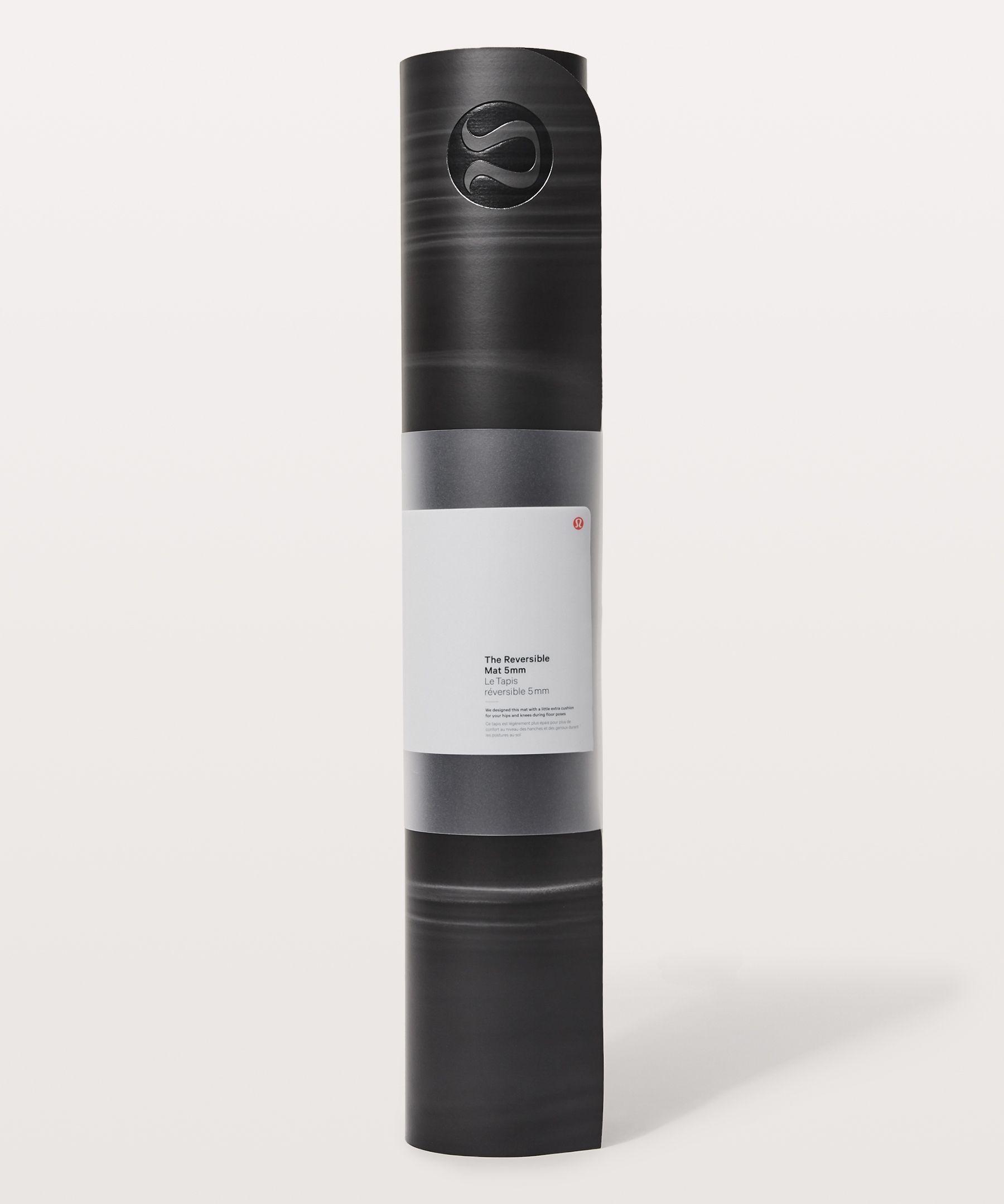 lululemon The Reversible Mat 5Mm, Black/White/Black, Size