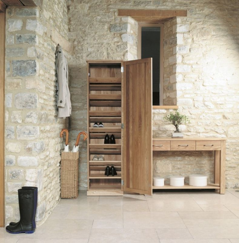 baumhaus mobel solid oak hidden. Buy Baumhaus Mobel Oak Tall Shoe Cupboard Online By Furniture From CFS UK At Unbeatable Price. Solid Hidden