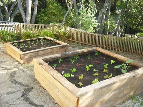 garden planter box. Garden Therapy: New Boxes From Old Wood Planter Box D