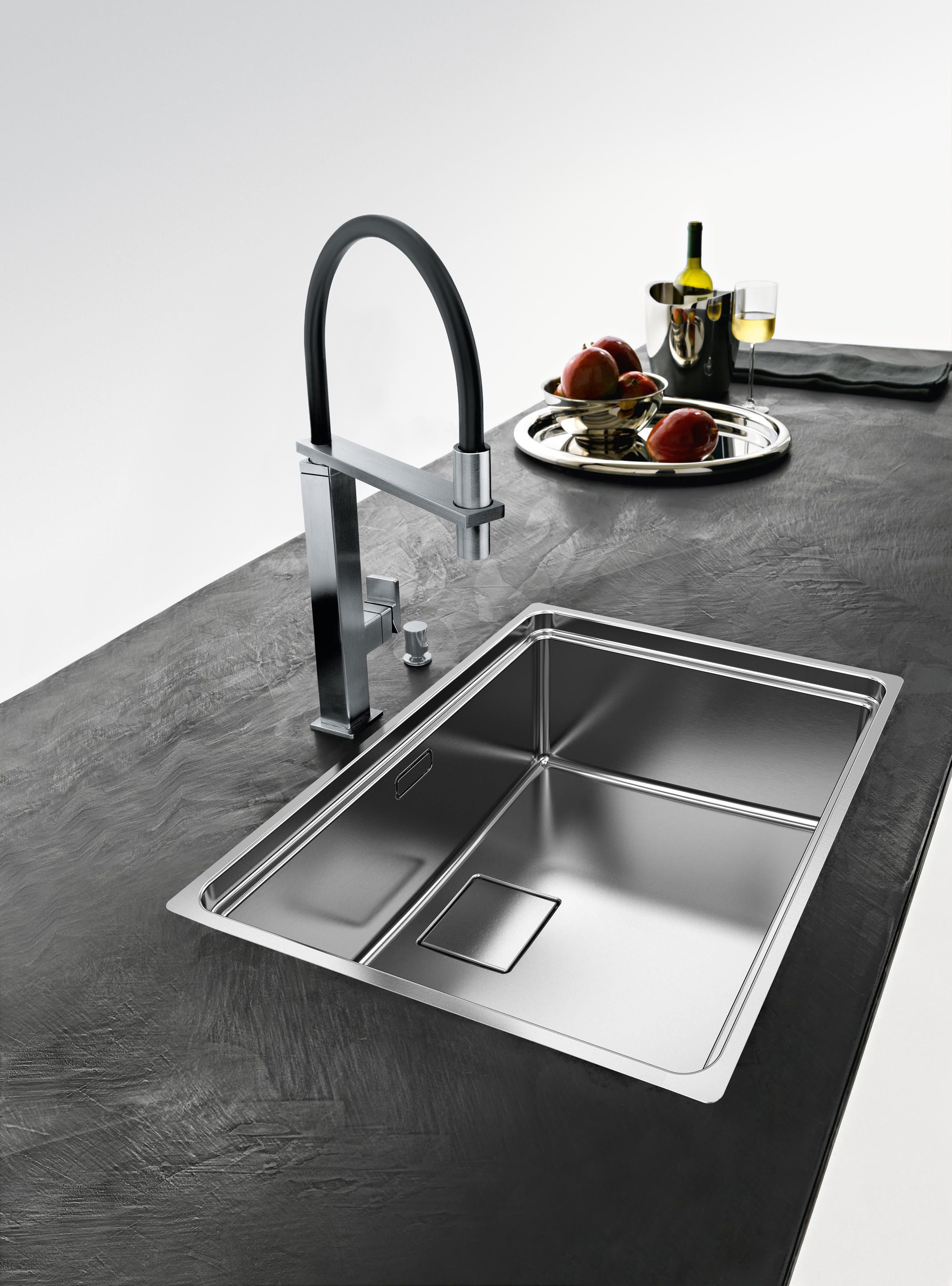 Centinox Sink Cmx 210 50 Stainless Steel Designer Kitchen Sinks From Franke Kitchen Syste Modern Kitchen Interiors Interior Design Kitchen Best Kitchen Sinks