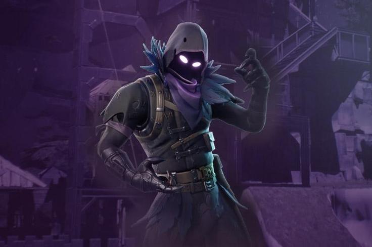 Fortnite Battle Royale Raven Wallpaper For Phone And Hd Desktop Backgrounds