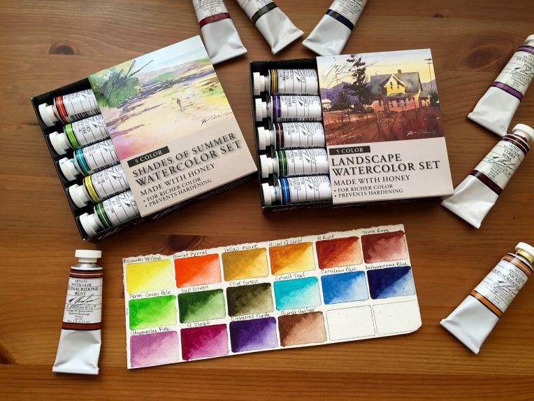 M Graham Watercolor Chart Watercolor Mixing Chart Download
