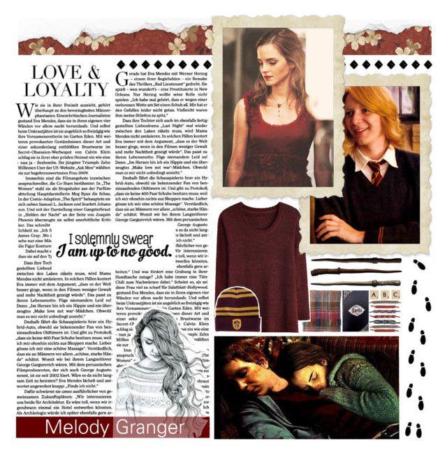 """Granger & Weasley"" by whereisnet ❤ liked on Polyvore featuring art, kitchen, OriginalCharactersSeasonOne and BotOCs1"