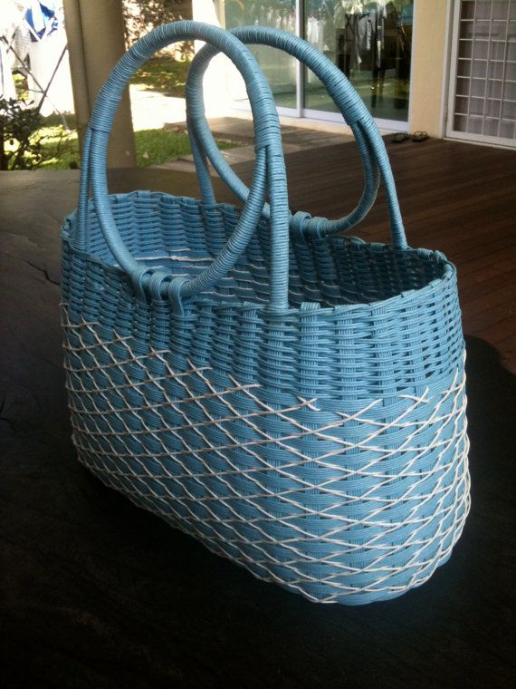 blue basket basket weaving pinterest basket ideas paper