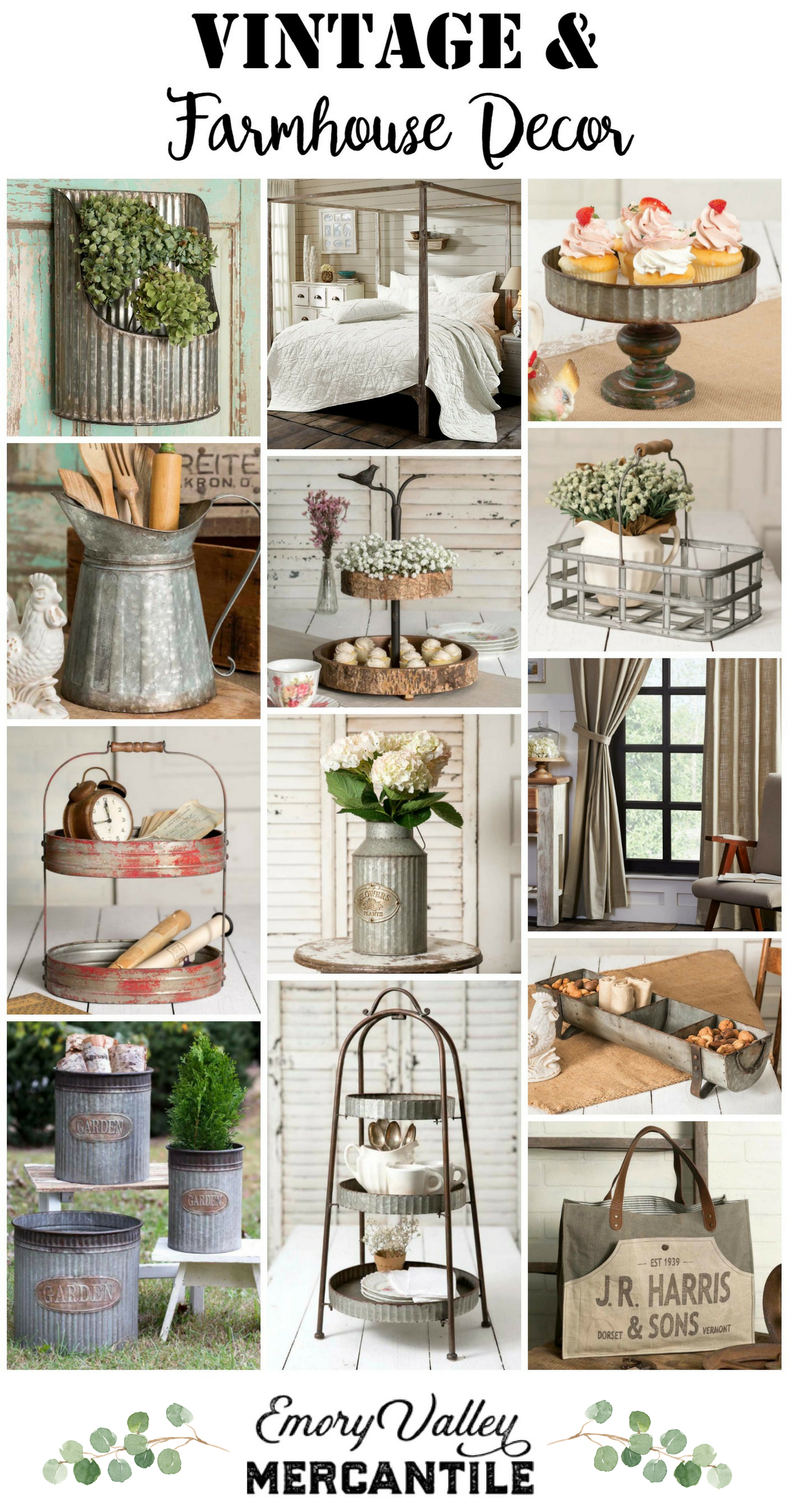 So many great farmhouse and vintage items. | Vintage ...