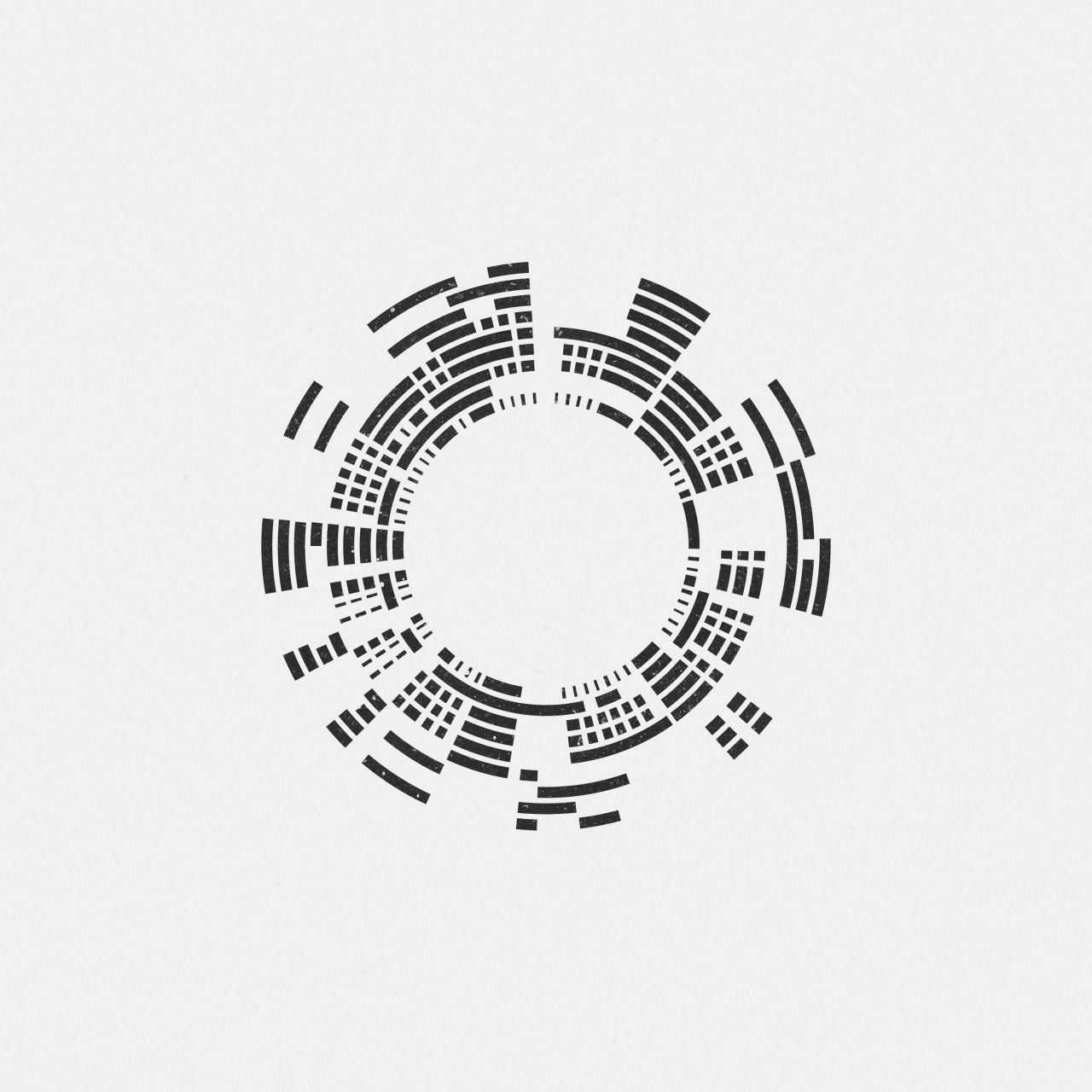 Daily Minimal #MA16-532 A new geometric design every