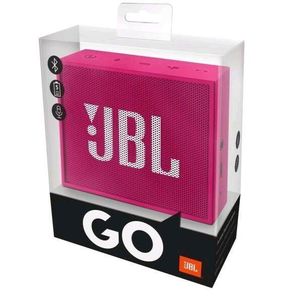 Jbl Speakers Go Portable Bluetooth High Quality New Pink Lautsprecher Eingang Tragbarer Lautsprecher